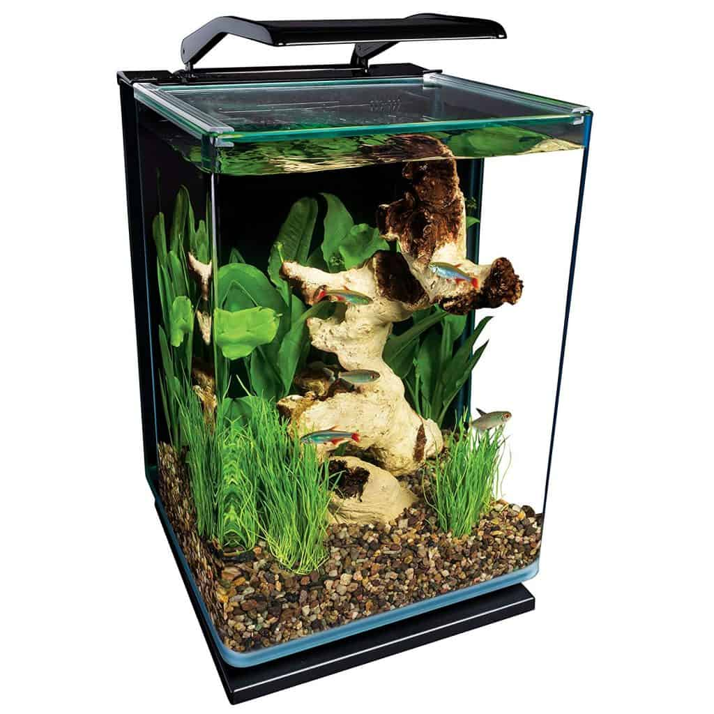 MarineLand Potrait Glass LED Aquarium Kit
