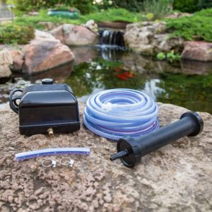 Aquascape Pro Air 20 Pond Aerator and Aeration Kit with Tubing and Self-Cleaning Diffuser