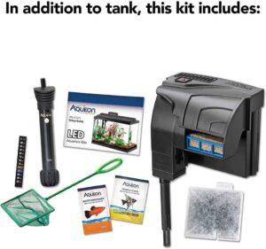 Aqueon Aquarium Starter Kit with LED Lighting