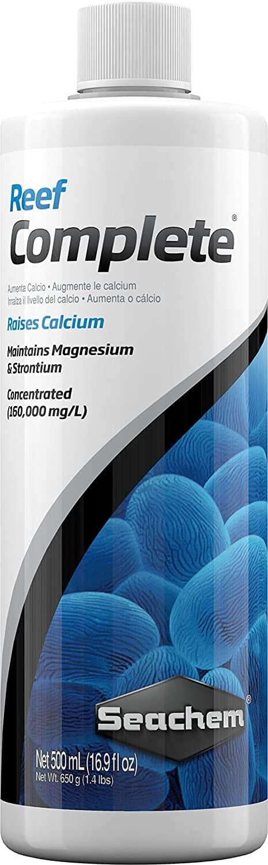 Seachem Reef Complete Review: Liquid Ionic Calcium Source