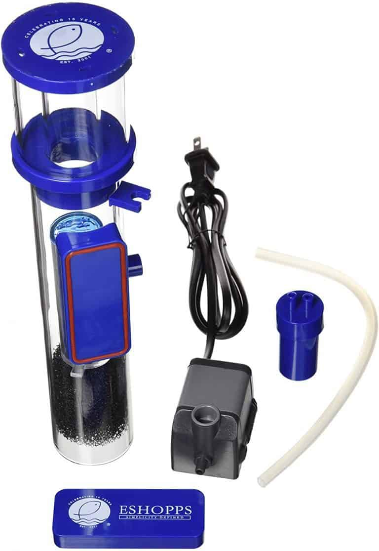Eshopps Nano Skimmer Review: Efificient Protein Skimmer Up To 40 Gallons