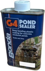 G4 Pond Paint and Sealer