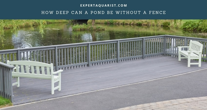 How Deep Can A Pond Be Without A Fence